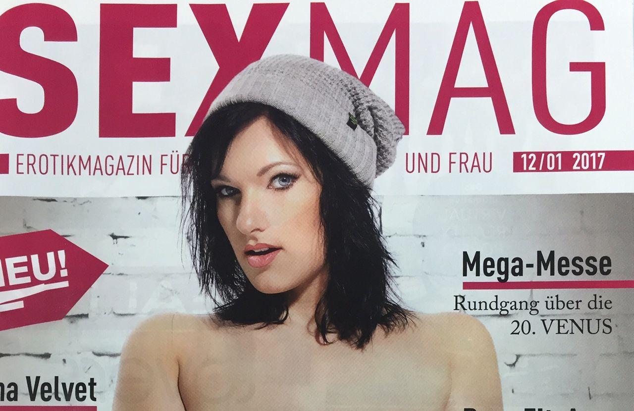 Aktuelle Titelseite SEXMAG vom 12.01.2017
