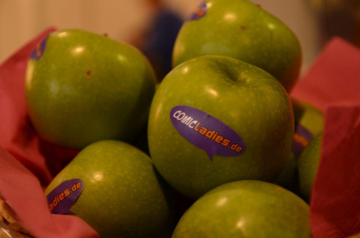 Leckere Äpfel von Comicladies.de