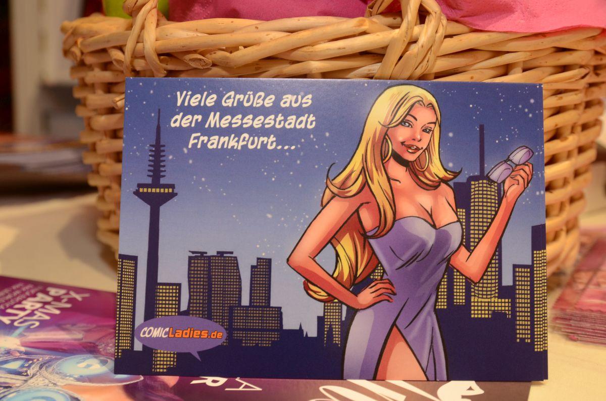 Sammlerpostkarte von Comicladies
