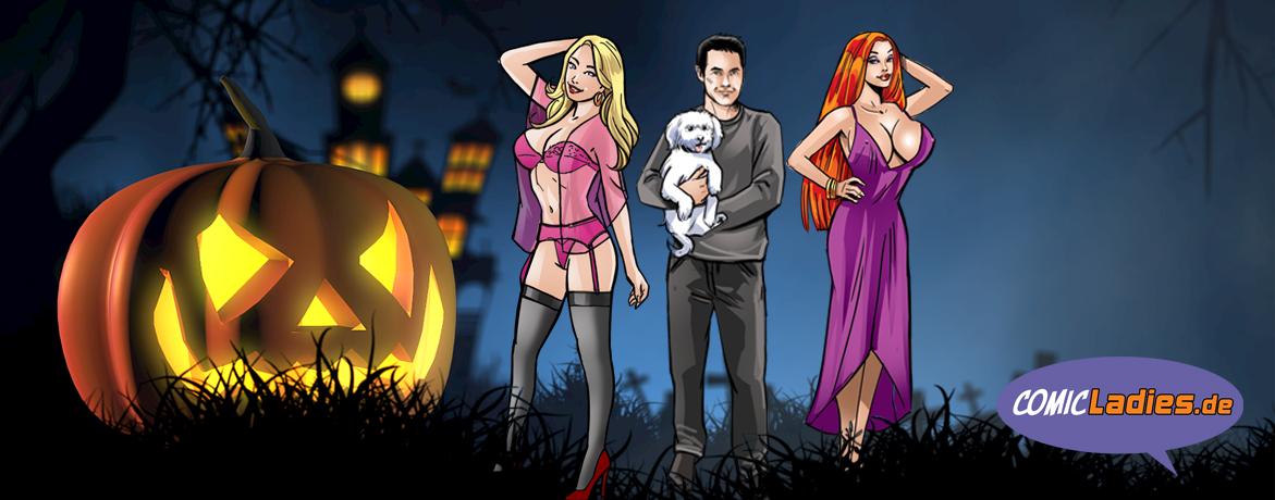 Comicladies.de wünscht eine schaurig-schöne Halloween-Zeit!